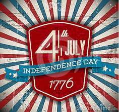 Vector independence day shield / poster by Petr Vaclavek, via Dreamstime