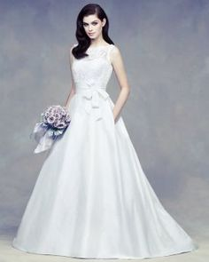Wedding dress by Paloma Blanca