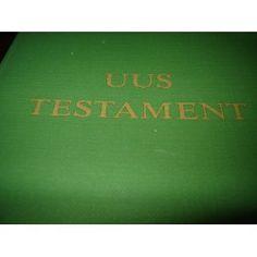 Estonian New Testament / Uus Testament  $29.99  BIBLE IN MY LANGUAGE