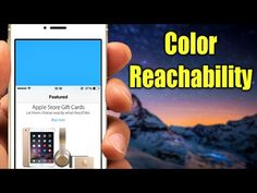 How to Change the iPhone 6 Reachability Background Color