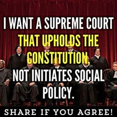 """How about SCOTUS upholding the Constitution instead of """"legitimizing"""" social policy? Activism is a disease that spreads from dumbass to dumbass. Mantra, Conservative Politics, We The People, Greedy People, Usa People, Things To Think About, Wisdom, Thoughts, Feelings"""