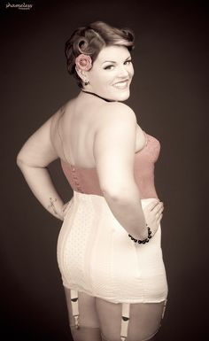 What a sexy minx! She IS #SexyAtEverySize  Image by Shameless Photography Photographer, Carey Lynne.