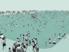 Alexandre Ciancio Collage Called Swimming Pool
