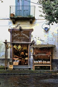 An old grocers in Sorrento