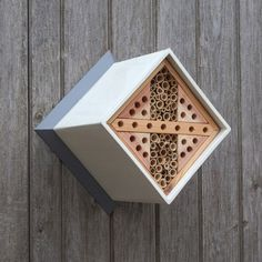 Urban Bee Box. Help bees and enhance pollination in your garden with this bee nester.