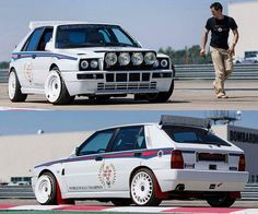 Fast Sports Cars, Classic Sports Cars, Classic Cars, Hatchback Cars, Bmw Z3, Martini Racing, Lancia Delta, Rally Car, Hot Cars