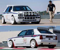 Lancia Delta Integrale HF Fast Sports Cars, Classic Sports Cars, Sport Cars, Classic Cars, Automobile, Street Racing Cars, Hatchback Cars, Martini Racing, Bmw Z3