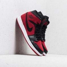 990a59319f122 Air Jordan 1 Mid Gym Red  Black-White