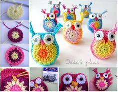 Easy Crochet Owls FREE Pattern