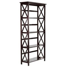 home decorators collection brexley black 5 shelf bookcase home decorators collection torrence 18 in w black 5 shelf 13699