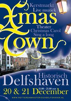 December: xmas town delfshaven 2014