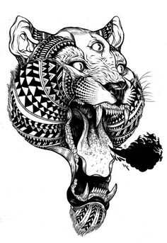 This would be a SICK tattoo on my side. Totally digging this.