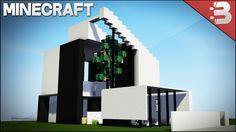 Minecraft: Modern House / Best Small Modern House 2016 ( HD )