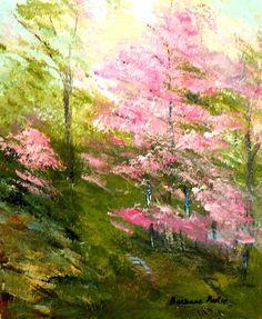 """Springtime in Georgia"" by artist Barbara Pirkle; makes me wish I could visit Georgia"