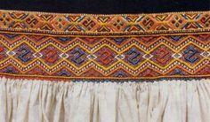 FolkCostume&Embroidery: Costume of Čičmany and vicinity, Slovakia
