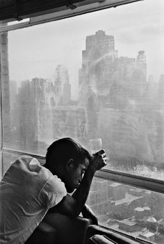 "Sammy, by Burt Glinn. I think the title should be more like,  ""Sammy on Monday Morning""."