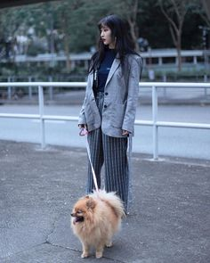 Perfect weather to walk my Bao  . Photo by @benjaminwestover via BOLD SHOP HONG KONG OFFICIAL INSTAGRAM - Celebrity  Fashion  Haute Couture  Advertising  Culture  Beauty  Editorial Photography  Magazine Covers  Supermodels  Runway Models