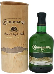Connemara 12 Year Old Peated Irish Single Malt Whiskey.  Aged for a minimum of 12 years, this #whiskey earned a score of 94 points from the Beverage Testing Institute. | @Caskers