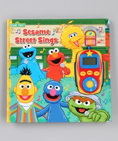 Take a look at this Sesame Street Sings! Board Book by Publications International on #zulily today!