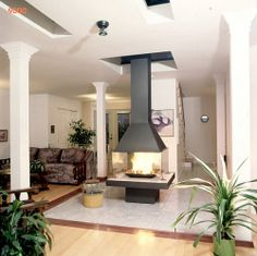Freestanding Wood Fireplace | Wood fireplace - 9000 Series