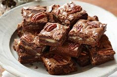 Gooey chocolate, melty caramel, crunchy pecans: Baker, prepare to take a bow as these brownies become the star of the dessert table.