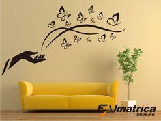 40. Falmatrica pillangókkal Home Decor, Decoration Home, Room Decor, Home Interior Design, Home Decoration, Interior Design