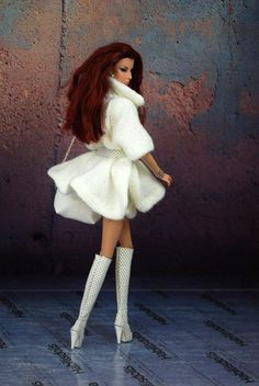 HABILISDOLLS OUTFIT sweater for Fashion Royalty FR2, Barbie and similar dolls