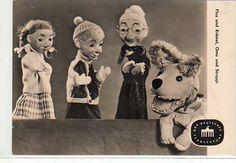 sandmännchen ddr | Sandmann Sandmännchen DDR-Fernsehn 1963 - Die Großmutter, Flax und Krümel und natürlich Struppi von Tadeusz Punkt...