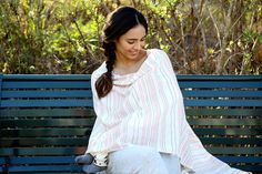 Form and function meet in this 2-in-1 Organic Nursing Cover + Scarf from The Honest Company and Piece & Co.