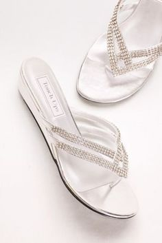 8c09a7e04 Tango Low Wedge Crystal Sandals 4052 Low Wedges