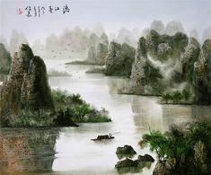 пейзажи художника Hout Jyaryang - 03