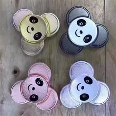 4 Colours Finger Fidget Spinner Panda Rotating Fidget Hand Spinner ADHD Autism Fingertips Fingers Gyro Reduce Stress Gift Toys with Free Shipping  have discount 11.0% Off sales