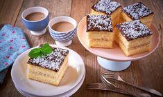 Biszkopt, wartswa kokosowa i masa budyniowa Tiramisu, Ethnic Recipes, Food, Essen, Meals, Tiramisu Cake, Yemek, Eten