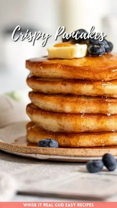 Sour cream pancakes with crispy edges will become your family's favorite breakfast! Sour Cream Pancakes, Melted Butter, Baking Soda, Oven, Easy Meals, Vegetarian, Cooking, Breakfast, Recipes