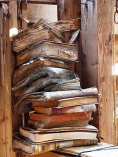 People often ask me for advice on personal libraries. This is how not to store your books.