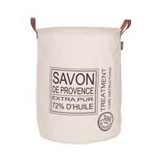 Sealskin Wäschekorb Savon de Provence Creme 60 L 361752065 Laundry Center, Small Laundry, Laundry Cart, Laundry Hamper, Fabric Shaver, Shabby, Vintage Laundry, Laundry Room Organization, Tidy Up