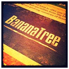 The Banana Tree restaurant Soho, London.  Great #vegan menu options