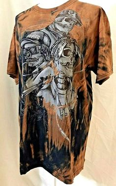 34ef9a21a Skeleton Rappers Legends Tie Dye Shirt Large Tupac 2Pac Eazy-E Biggie Hip  Hop #. Vintage Tee ...