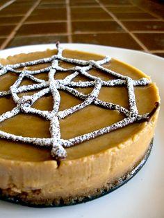 Spider Web Halloween Dessert