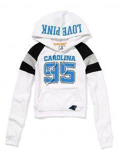 victoria secrets Carolina Panthers Hoodie !!!  #CamNewton