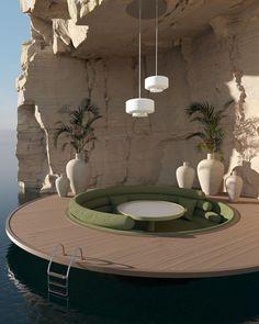 Dream Home Design, My Dream Home, House Design, Organic Architecture, Interior Architecture, Minimalist Architecture, Contemporary Architecture, Exterior Design, Interior And Exterior