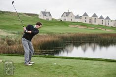 Morning Golf, Northern Ireland Wedding, Lough Erne Resort, www.connormccullough.co.uk