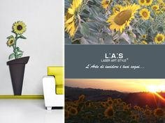 #CuriosityLAS In our hills, the sunflowers are the undisputed protagonists in the summer! Discover the collection, that L.A.S. has  devoted to these flowers, that emit a contagious joy! http://www.laserartstyle.it/gallery/vasi/ #sunflowers #destinazionemarche #Marche