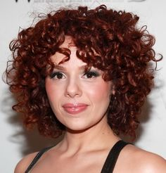 Curly Hairstyles for Short Hair  Wendy Schultz via www.stylisheve.com onto Hair Designs.