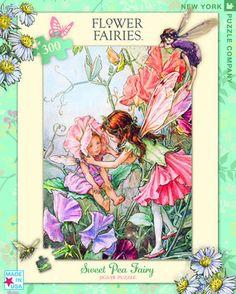 Sweet Pea Flower Fairy 300 Piece Puzzle