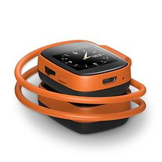 Smart Watches Headphone Bluetooth Wireless with Calls Reminding Pedomete Facebook SMS News For iPhone Android (orange). call record, phone book, Hands-free Bluetooth phone call. Entertainment MP3, Bluetooth music playing. SMS Local SMS, Phone SMS Bluetooth Synchronization. Phone calls reminding Ring and shake, Two-way anti lost Anti lost remind, Two way search. Pedometer, Step motion meter, Calories calculation, Sports mileage records, Sedentary remind, Sleep monitoring, Storage to the…