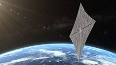Planetary Society launched its crowdfunded LightSail 2 spacecraft on June 25 and expanded its solar sail. LightSail 2 spacecraft will solar sail just Nasa, Polo Sul, Indiana, Spacex Falcon Heavy, Les Satellites, Nursing Student Tips, Chemical Engineering, Civil Engineering, Mission Control