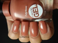 Sally Hansen - Per-Suede. The perfect fall shade