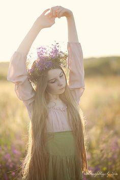 In the Meadow by loretoidas, via Flickr