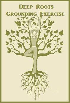 Deep Roots Grounding Exercise balancedwomensblog.com